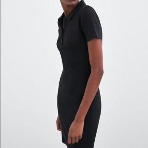 NWT Zara Long Polo Dress
